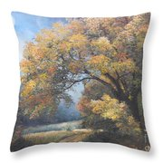 Under The Moonlight  Throw Pillow