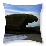 Under The Overhang #2 Throw Pillow