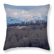 Under The Radar Throw Pillow