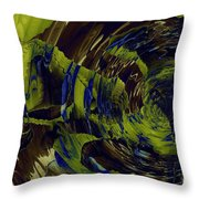 Under The Ripples Throw Pillow