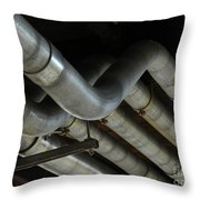 Under The Riverfront 1 Throw Pillow