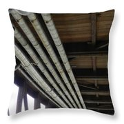 Under The Riverfront 3 Throw Pillow
