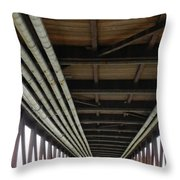 Under The Riverfront 5 Throw Pillow