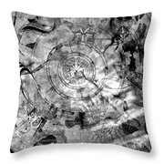 Under The Sea Ceiling Throw Pillow
