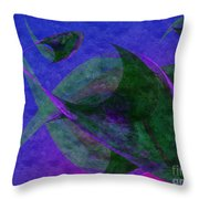 Under The Sea Painterly Throw Pillow