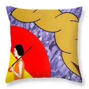 Under The Shelter Of Your Love Throw Pillow by Patrick J Murphy