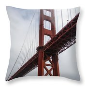 Under The South Tower Throw Pillow
