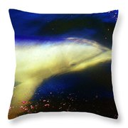 Under The Water Throw Pillow