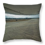Under The Wing Throw Pillow