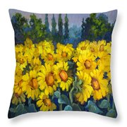 Under Tuscan Sun Throw Pillow