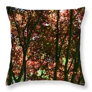 Under Your Protection Throw Pillow