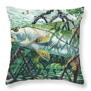 Undercover In0022 Throw Pillow