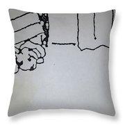 Underdog 1 Throw Pillow by Erika Chamberlin