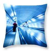 Underground Motion Throw Pillow