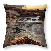 Underground Peek Throw Pillow