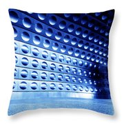 Underground Train Dynamic Motion Throw Pillow
