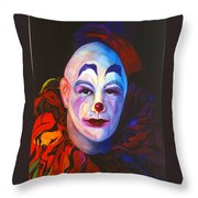 Underneath The Laughter Throw Pillow