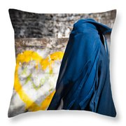 Underneath... There Is My Heart Throw Pillow