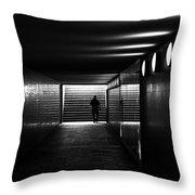 Underpass Berlin Throw Pillow