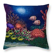 Undersea Creatures Vi Throw Pillow