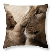 Understood?? Throw Pillow