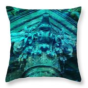 Underwater Ancient Beautiful Creation Throw Pillow