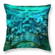 Underwater Beautiful Creation Throw Pillow
