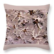 Underwater Mystery Throw Pillow by Jean Noren