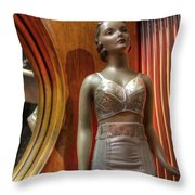 Underwear Model Throw Pillow