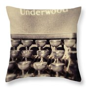 Underwood Throw Pillow
