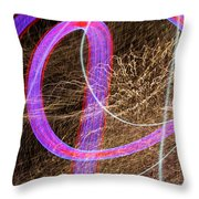 Underwriters Anonymous Throw Pillow