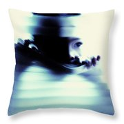 Undetected Throw Pillow