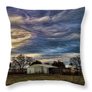 Undulatus Asperatus Skies 1 Throw Pillow