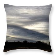 Undulatus Asperatus Skies 2 Throw Pillow