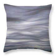 Undulatus Asperatus Skies 3 Throw Pillow