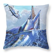 Unexpected Off0093 Throw Pillow by Carey Chen