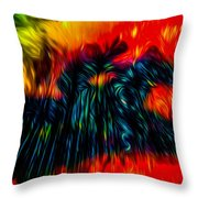Unexpected Riders Vision Throw Pillow