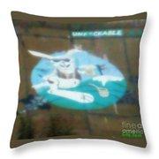 Unfckable Throw Pillow