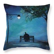Unforgettable Evening Throw Pillow
