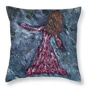 Ungrounded Throw Pillow