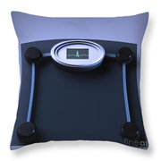 Unhealthy Weight Throw Pillow