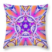 Uninhibited Vitality Throw Pillow by Derek Gedney