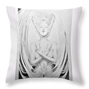 Unio Mystica Throw Pillow
