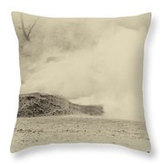 Union Canister Shot Throw Pillow