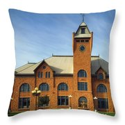 Union Depot - Pueblo Colorado Throw Pillow