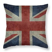 Union Jack 3 By 5 Version Throw Pillow