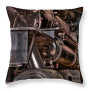 Union Pacific 4466 Throw Pillow