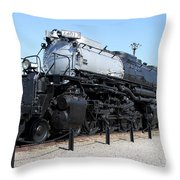 Union Pacific Big Boy Throw Pillow