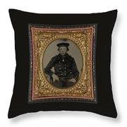 Union Sailor Throw Pillow