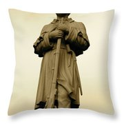 Union Soldier Throw Pillow